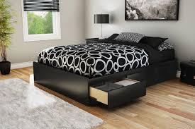 Platform Beds Canada South Shore Full Size Pure Black Mates Bed Walmart Canada