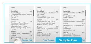 diet plan for abs plus belle la vie pblv