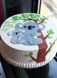 koala bear baby shower cake whipped bakeshop