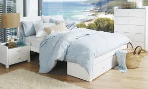 King Bed Frame With Drawers Beds And Suites With Storage Beds Bedshed