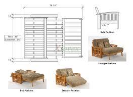 lounger futon white futon and day key west futon white xiorex