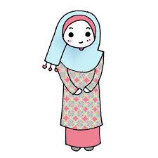 freebies doodle muslimah miss yayah