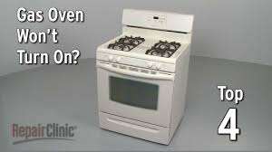 oven pilot light won t light top 4 reasons oven won t turn on gas range troubleshooting youtube