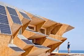 tetto padiglione endesa solar pavilion il padiglione solare in legno