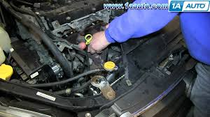 nissan versa engine diagram how to install replace exhaust manifold and catalytic converter