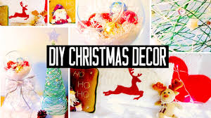 Decoration For Christmas Handmade by Diy Christmas Room Decorations No Sew Pillow Easy Tree U0026 More