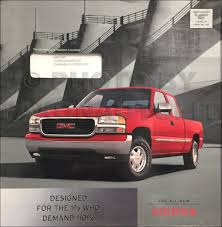 1999 chevrolet gmc c k pickup silverado sierra service manual on cd
