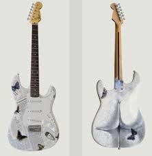 Shabby Chic Guitars by Tribute Walker Electric Guitar Guitars Pinterest Electric
