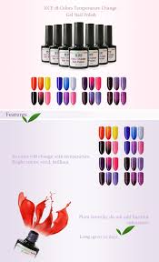 kce temperature change gel nail polish 1 59 online shopping