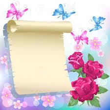 imagenes de archivo libres de derechos bordes con flores imágenes de archivo vectores bordes con flores