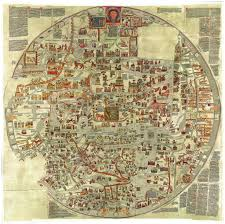 Narnia Map The Ebstorf Map An Example Of Mappa Mundi A Medieval European