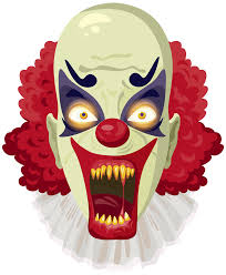 happy halloween no background happy birthday clip art scary clown u2013 clipart free download