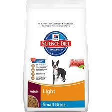 hill u0027s science diet light small bites dry dog food 17 5
