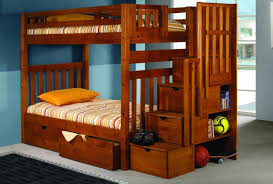 Bunk Bed With Stairs And Desk by Bunk Beds Metal Bunk With Desk Full Over Full Bunk Beds With