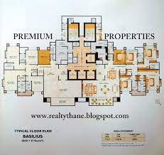 Luxury Apartment Floor Plan by Basilius Luxury Apartments Of 5 Bedrooms At Rodas Hiranandani