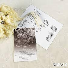 Wedding Programs Wedding Programs