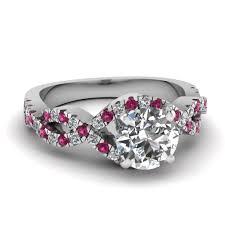 amethyst diamond engagement ring beautiful infinity engagement rings fascinating diamonds