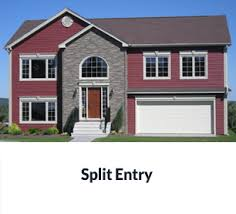 split entry home plans maple leaf homes plans home plan