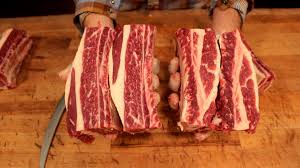 how to butcher short ribs where do they come from youtube
