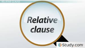 types of clauses noun adverbial u0026 relative clauses video