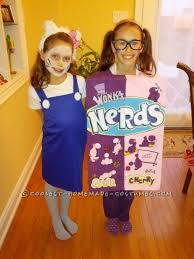 Box Nerds Halloween Costume 80 Irresistible Homemade Candy Bars Candy Costumes