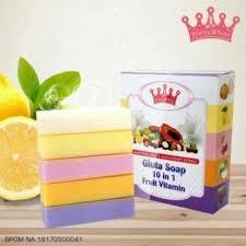 Sabun Thailand wink white fruitamin soap bpom 10 in 1 original sabun pemutih badan