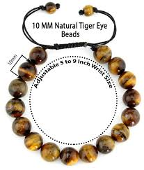 natural beads bracelet images Natural genuine tiger gemstone bead bracelet fit all men and women jpg
