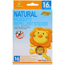 natural mosquito repellents simba mosquito repellent stickers 16 pcs walmart com