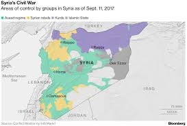 Map Of Syria And Russia Like Berlin 1945 U0027 As Russia U S Race For Last Corner Of Syria