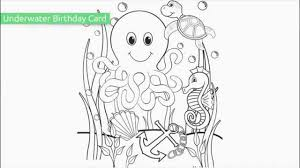 top 10 free printable ocean coloring pages youtube