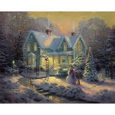 christmas story a u2013 limited edition art the thomas kinkade company