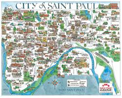 st map maps paul almanac