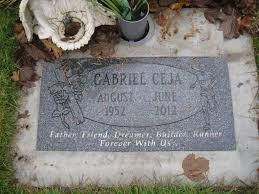 cemetery stones gabriel ceja claggett cemetery keizer oregon occupational