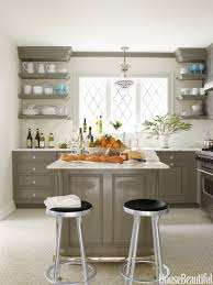 popular of colorful kitchen ideas in home remodeling concept with