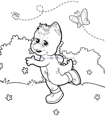 barney friends coloring pictures pages birthday barney