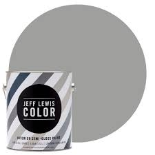 Home Depot Paint Colors Interior Jeff Lewis Color 1 Gal Jlc414 Gravel Quarter Gloss Ultra Low Voc