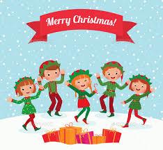christmas elves merry christmas elves by jelizarose graphicriver