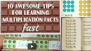 how to teach multiplication tables learning multiplication facts top 10 tricks for memorizing the