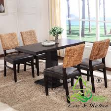 china manucfacturer natural rattan wicker dining room chair from