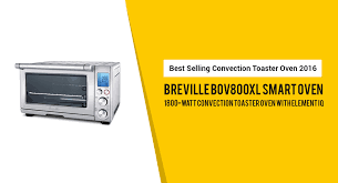 Breville Convection Toaster Oven Breville Bov800xl Smart Convection Toaster Oven U2022 Kitchenspect