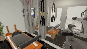 custom 3d home gym interior design layout 4 by fs2 training llc