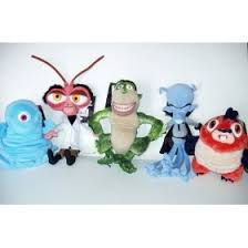 monsters aliens 10 plush 5 dr cockroach