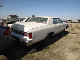 car junkyard near me junkyard find 1976 lincoln continental town car the truth about