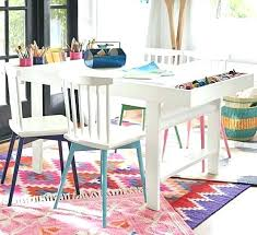 kids art table with storage art table socielle co