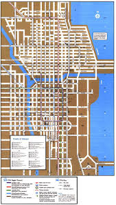Map Metro Chicago by Chicago U0027 U0027l U0027 U0027 Org System Maps Route Maps