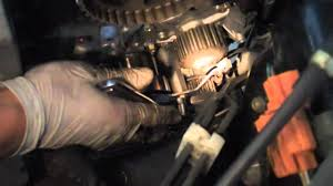 tutorial change your timing belt and water pump on a 2002 honda