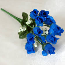 blue roses for sale 360 mini silk roses buds flowers bushes for wedding bouquets