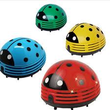 Ladybug Desk Accessories Beetle Ladybug Desktop Vacuum Desk Dust Table Cleaner