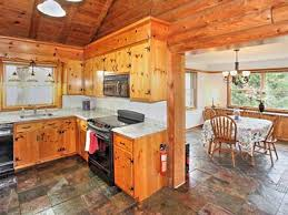 log cabin floors cabin style waterfront home