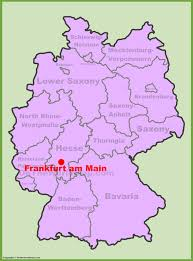 frankfurt on world map frankfurt maps germany maps of frankfurt am